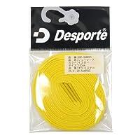 Desporte(デスポルチ)【DSP-SHOR01】フットサル シューレース 靴ひも イエローイエロー 120