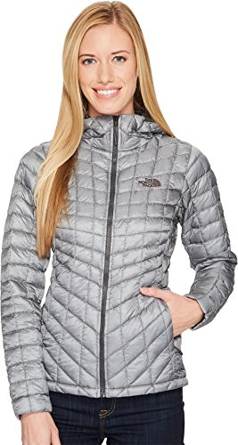 The North Face Women's Thermoball Hoodie - Mid Grey - M (Past Season)