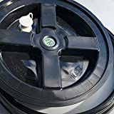 Harvest Curing Bucket Lid with Hygrometer and...