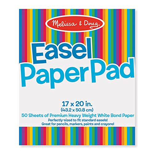 Melissa & Doug LCI4102BN Easel Paper Pad, 17