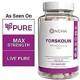 Best Forskolin Supplements - DACHA Forskolin Max Strength LivePure - 500mg Coleus Review