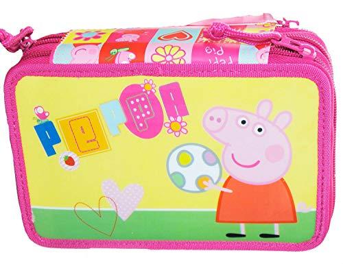 Accademia 140866 Peppa Pig Astuccio 3 Zip