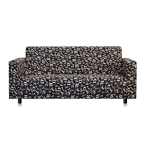 WXQY Funda de sofá Bohemia, Toalla de sofá con patrón de Mandala, protección de Muebles, Funda de sofá para sillón, Funda de sofá A3 de 4 plazas