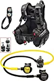 Cressi 1946 Start Pro Scuba Set - Din Tauch Diving, Schwarz, M