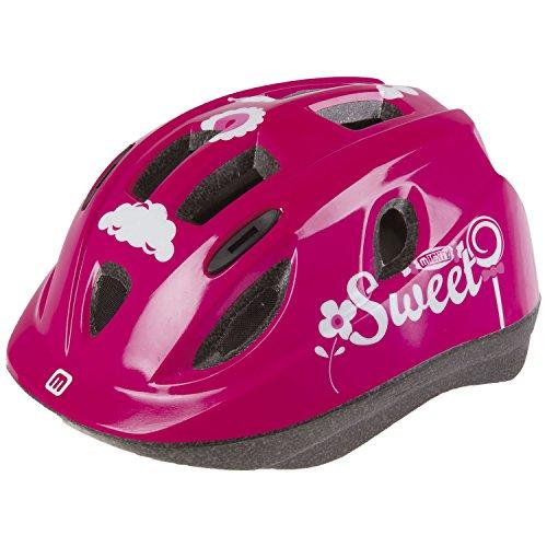Mighty Unisex niño Junior Sweet XS Kids–Casco de Ciclismo, Color Rosa, 48–54cm