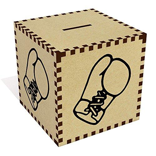 Azeeda Groß 'Boxhandschuh' Sparbüchse / Spardose (MB00066630)