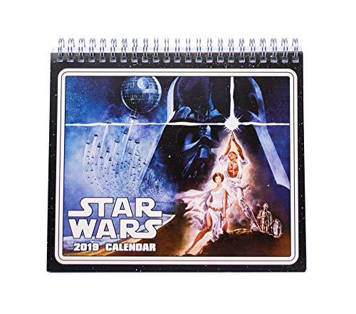 Grupo Erik - Calendario Da Tavolo 2019 Star Wars Classic 17 X 20 Cm