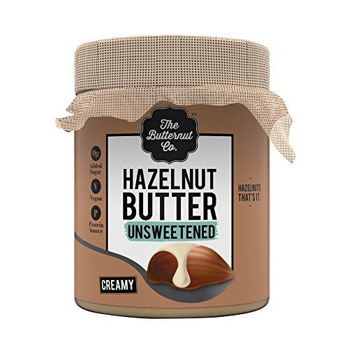 Hazelnut Butter Unsweetened 200 gm (No Added Sugar Vegan High Protein Keto)