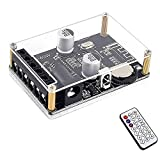 Tablero de Amplificador de Potencia EstéReo Bluetooth 5v 12v 24v 20w 30w 40w MóDulo de Receptor de Control Remoto de Infrarrojos con Estuche