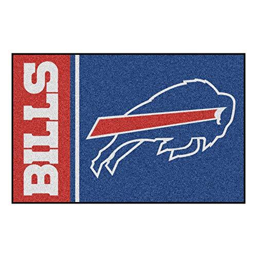 FANMATS 8226 NFL Buffalo Bills Nylon Face Starter Rug,Team Color,19'x30'