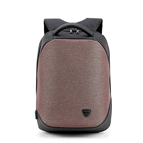 KKmoon ARCTIC HUNTERスクールUSBポート充電バックパックラップトップ メンズ防水モチラカジュアルビジネスオスバッグ旅行