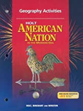 Holt American Nation: In the Modern Era: Geography Activities and Guided Reading Strategies with Answer Key