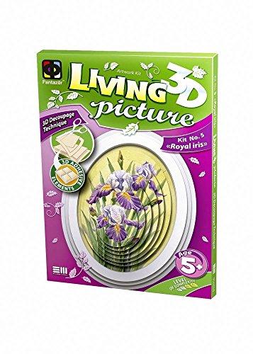 Fantazer - 3D Living Picture - Royal iris