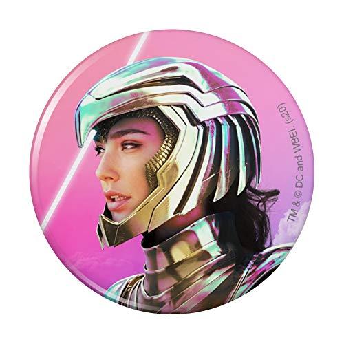 Wonder Woman 1984 Golden Eagle Armor with Helmet Pinback Button Pin
