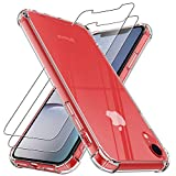 4youquality Case for iPhone XR with [2-Pack] Tempered Glass