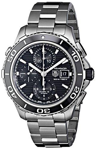 TAG Heuer Men's CAK2110.BA0833 Aqua Racer 500 Analog Display Swiss Automatic Silver Watch