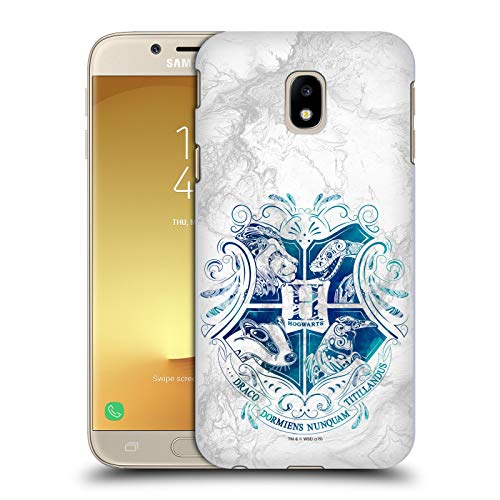 Head Case Designs Ufficiale Harry Potter Hogwarts Aguamenti Deathly Hallows IX Cover Dura per Parte Posteriore Compatibile con Samsung Galaxy J3 (2017)