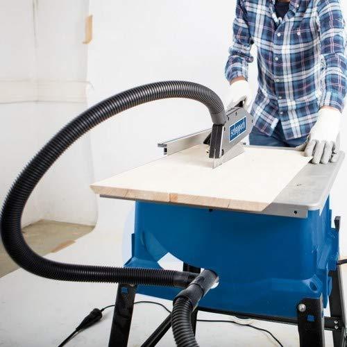 Scheppach Tischkreissäge 250-er Set, 230 V, 2000 W mit 2 Tischverbreitungen und Untergestell, HS100STVB - 2