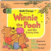Winnie the Pooh and the Honey Tree (Disneyland Record and Book, #313)