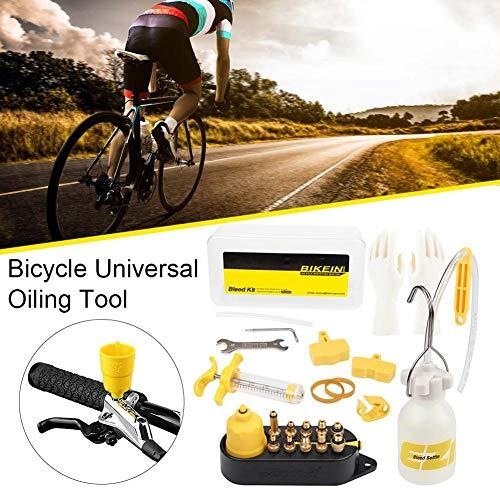 strety Fahrrad Scheiben Bremse Öl Universal Mineralentlüftungs Set MTB Rennrad Fahrrad Bremse Reparatur Werkzeug Ölwechsel Nachfüllen Für 99 Fahrrad Ölbremsen