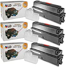 LD Compatible Toner Cartridge Replacement for Kyocera FS-4020DN TK-362 (Black, 3-Pack)