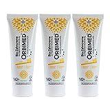 ORBIMED Bio-Zahncreme PUR (3 X 75 Ml), Minze Geschmack, Bio Zahnpasta, Vegan, Fluoridfrei, Naturkosmetik