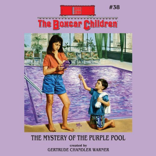 The Mystery of the Purple Pool cover art