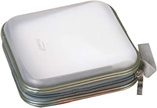 Fanspack Porta CD Archivador CD Estuche de CD Estuche de Almacenamiento Multiusos Cuadrado para 40 Discos de Capacidad Org...