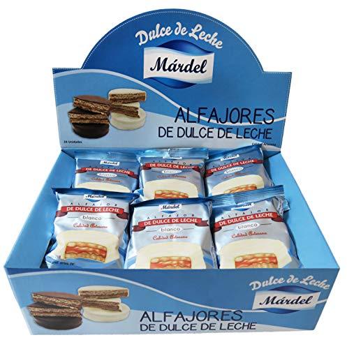 Mardel Alfajores Mardel Chocolate Blanco - 24 Unidades