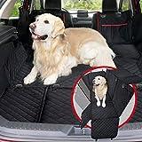 Funda cubreasientos para perro | Protector universal impermeable de mascotas para asiento trasero y...