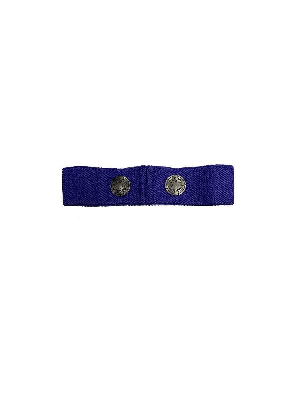 Dapper Snapper Baby & Toddler Adjustable Belt (Purple)