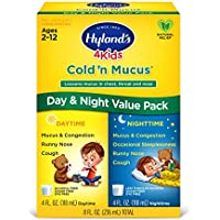 Hyland's Cold 'n Mucus Relief Liquid Value Pack for Kids Ages 2+