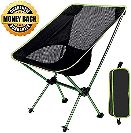 GRyiyi Folding Portable Camping Chair, Sports Outdoor...