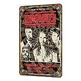 Rose Flight Soundgarden Vintage Metall Zinn Zeichen Shabby
