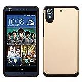 SOGA HTC Desire 530/630 / 626 / 626s / 625 Case - [Astro Guard Series] Hybrid Armor Cover Protector Case for HTC Desire 530/630 / 626 / 626s / 625 - Gold/Black
