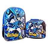Batman Backpack with Lunch Box