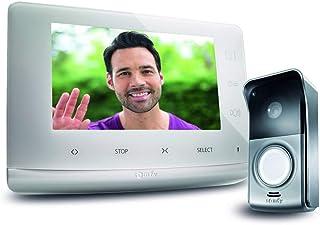 Somfy 2401547 - Visiophone V300, Interphone Vidéo écran 7 Pouces | Vision Nocturne | Contrôle jusqu'à 5 équipements RTS | ...