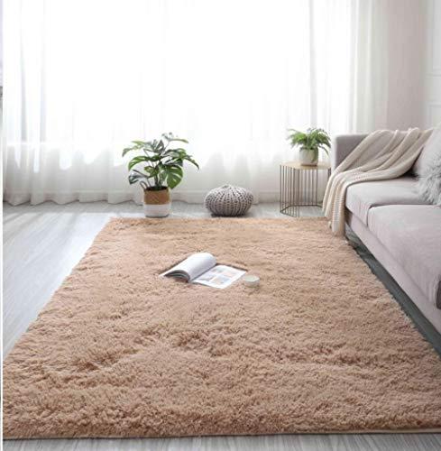 Effortsmy 15 colores rosa púrpura alfombra teñida suave de felpa alfombra de área de alfombra para sala de estar dormitorio antideslizante alfombras de piso para dormitorio niño alfombra de dormitorio