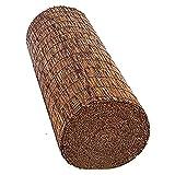 TMPP Estores Bambu Enrollables Exterior Estores de Bambú,Cortina de Caña Ecological Sunshade Partition Curtain con Accesorios de Instalación, Decoración Interior Exterior, TamañoPersonalizable
