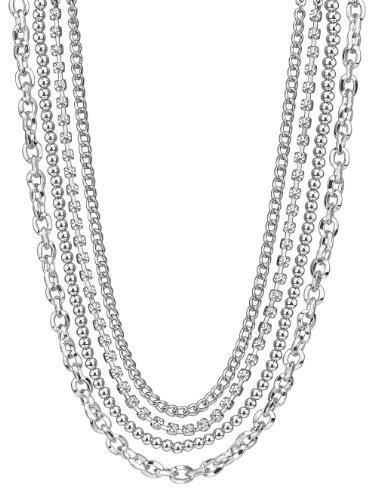 ESPRIT - Collar de Metal con circonita