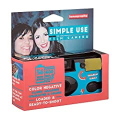 ▶ Analogue Made Easy: Lomography's Simple Use Film Camera is preloaded with film so you can start shooting straight away. ▶ Filled with Fantastic Film: the Lomography Color Negative 400 film gives your shots classic analogue character. ▶ Take Your Ca...