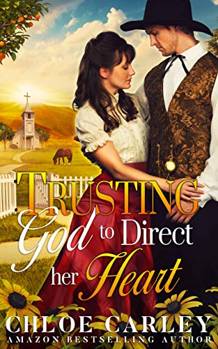 Trusting God to Direct Her Heart: A Christian Historical Romance Book (English Edition)