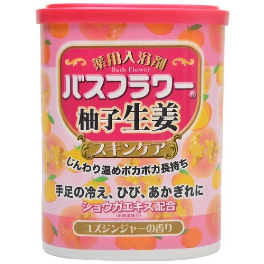 トースト九時四十五分断片バスフラワー 薬用入浴剤スキンケア柚子生姜 680g