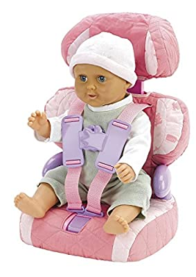 Doll Car Booster Seat - Bring Your Favorite Friend for a Ride!