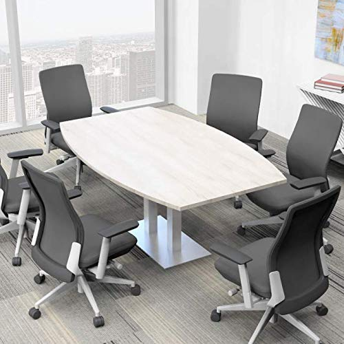 Skutchi Boat Shaped Conference Table