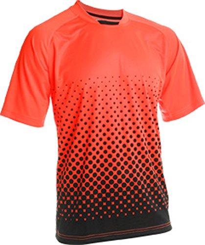 VIZARI Ventura Short Sleeve Torwarttrikot, Neon Orange/Schwarz, Größe S