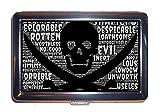 Caso di sigarette Testa di morte Minaccioso malvagio pirata (scatola di sigarette)