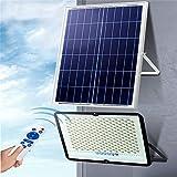 Solar Strahler AuBen IP67, Superhelle Wasserdichte LED Solar Flutlicht Freien, 10000mA Batterie...