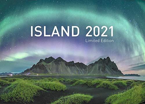 360° Island Exklusivkalender 2021: Limited Edition (70 x 50 cm) (360° Exklusivkalender 2021 / Limited Edition (70 x 50 cm))