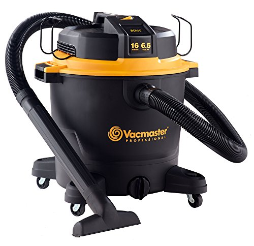 Vacmaster Professional - Professional Wet/Dry Vac, 16 Gallon, Beast Series, 6.5 HP 2-1/2' Hose...